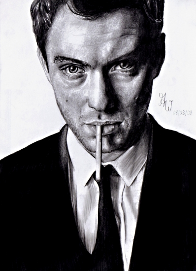 Jude Law by chanel